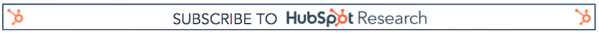 HubSpot Research Email Subscribe